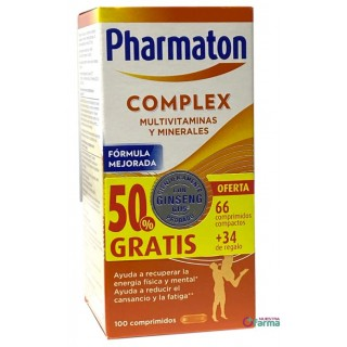 PHARMATON COMPLEX 100 COMPRIMIDOS