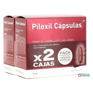 PILEXIL PARA EL CABELLO Y LAS UÑAS PACK PROMOCIÓN 2 X 100 CÁPSULAS