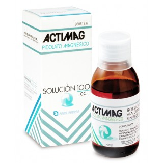 ACTIMAG 2 G/5 ML SOLUCION ORAL 1 FRASCO 100 ML