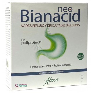 NEOBIANACID 20 SOBRES GRANULADO 1,55 G