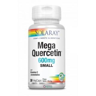 SOLARAY MEGA QUERCETINA 600 MG SMALL 30 CAPSULAS VEGETALES