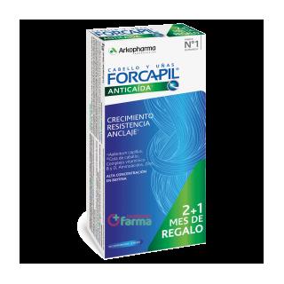 FORCAPIL ANTICAIDA 90 COMPRIMIDOS PACK 2+1 MES DE REGALO