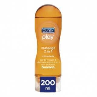 DUREX PLAY MASSAGE 2 EN 1 LUBRICANTE ESTIMULANTE 200 ML