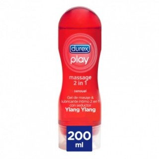 DUREX PLAY MASSAGE 2 EN 1 LUBRICANTE SENSUAL 200 ML