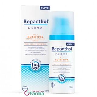 BEPANTHOL DERMA NUTRITIVA CREMA FACIAL DIARIA SPF25 50 ML
