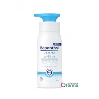 BEPANTHOL DERMA NUTRITIVA LOCION CORPORAL DIARIA 400 ML