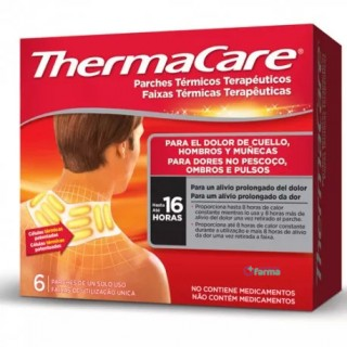 THERMACARE CUELLO HOMBRO 6 PARCHES