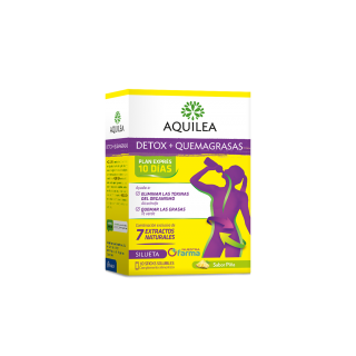AQUILEA DETOX + QUEMAGRASAS 10 STICKS