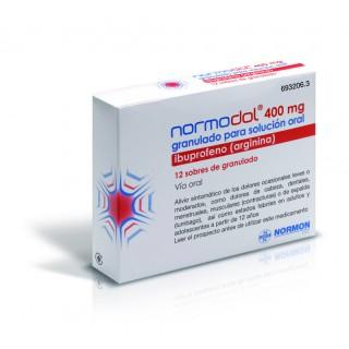 NORMODOL EFG 400 mg 12 SOBRES GRANULADO PARA SOLUCION ORAL