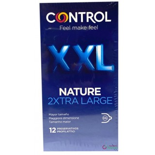 CONTROL NATURE XXL PRESERVATIVOS 12 UNIDADES