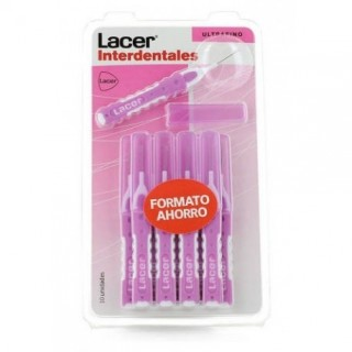 LACER CEPILLO INTERDENTAL ULTRAFINO 10 UNIDADES